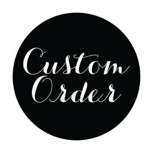 Custom Calligraphy Tags