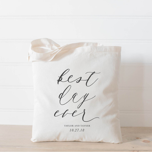 Best Day Ever Tote Bag - 10 Totes