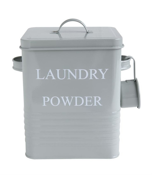 """""""Laundry Powder"""" Metal Container - FREE SHIPPING!"""
