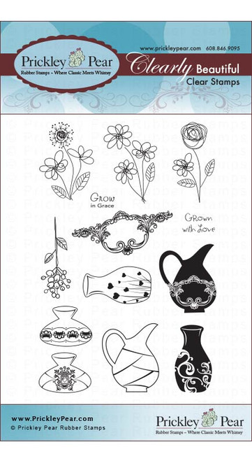 Vases - Clear Stamp Set CLR046