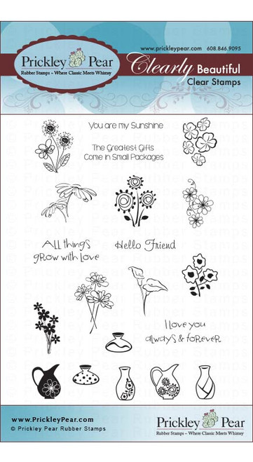 Mini Vases - Clear Stamp Set