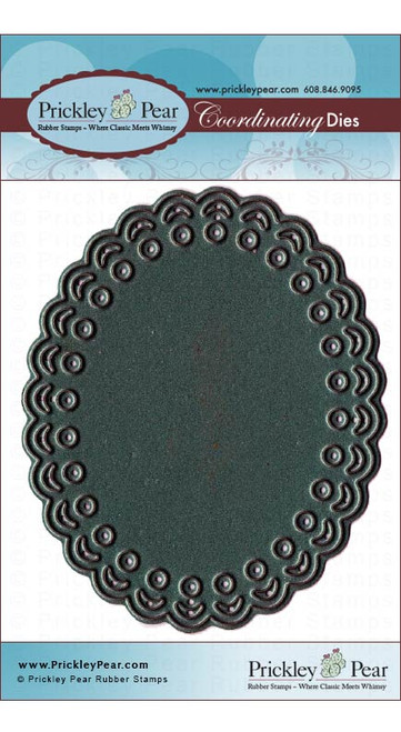Scalloped Oval Die