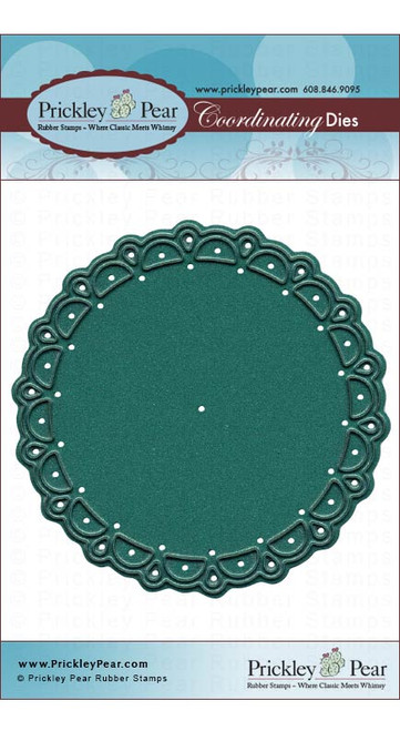 Scalloped Circle - Die PPRS-D013