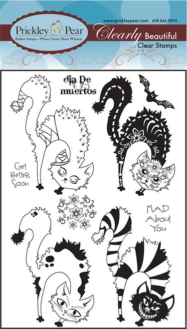 Scary Cats 2 - Clear Stamp Set
