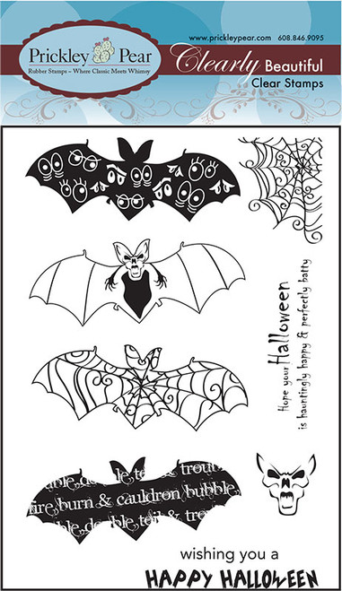 Bats 2 - Clear Stamp Set