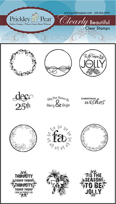 Snowflake Inserts - Clear Stamp Set