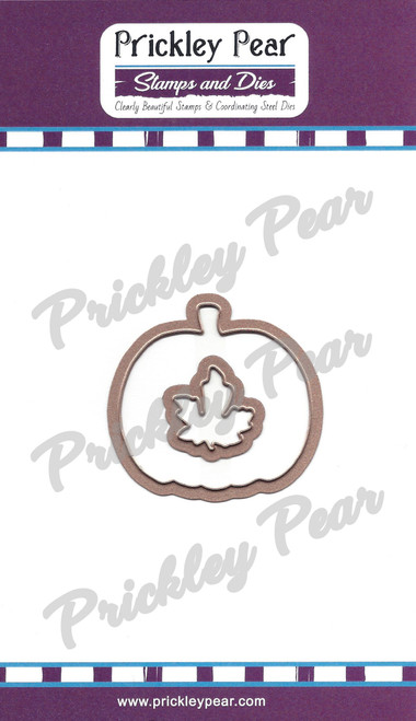 PPRS-D008 Pumpkin and Leaf Die Set