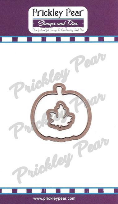 PPRS-D008 Pumpkin and Leaf Die Set
