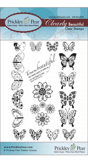 Mini Butterflies - Clear Stamp Set