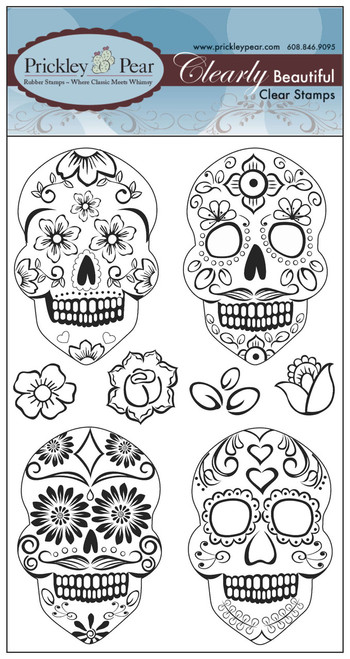 Day of the Dead Skull Set - Clear Stamp Set