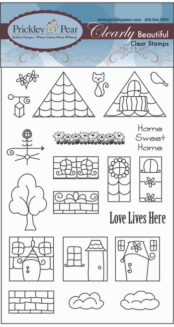 Row House Clear Stamp Set