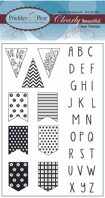 Pennant Clear Stamp Set CLR067