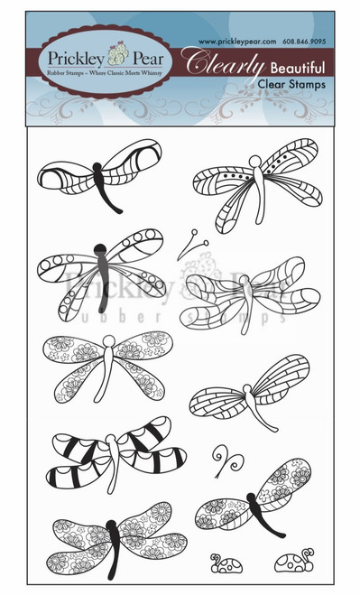 Dainty Dragonflies Clear Stamp Set