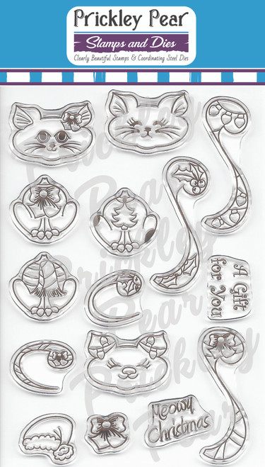 CLR048A Build A Cat 2 Clear Stamp Set