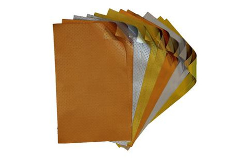 Metallics Foiled Paper Variety Pack - Crafter's Pack