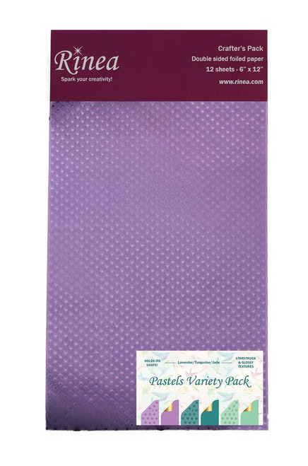 Pastels Foiled Paper Variety Pack - Crafter's Pack