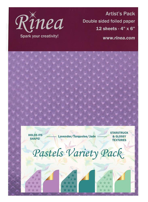 Pastels Foiled Paper Variety Pack- Artist's pack
