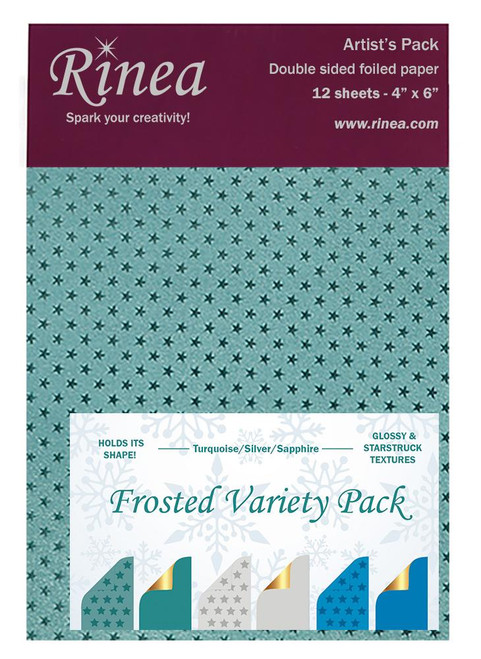 Frosted Foiled Paper Variety Pack - Artist's pack