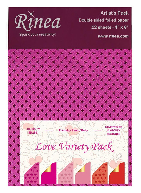 Love Foiled Paper Variety Pack - Artist's pack