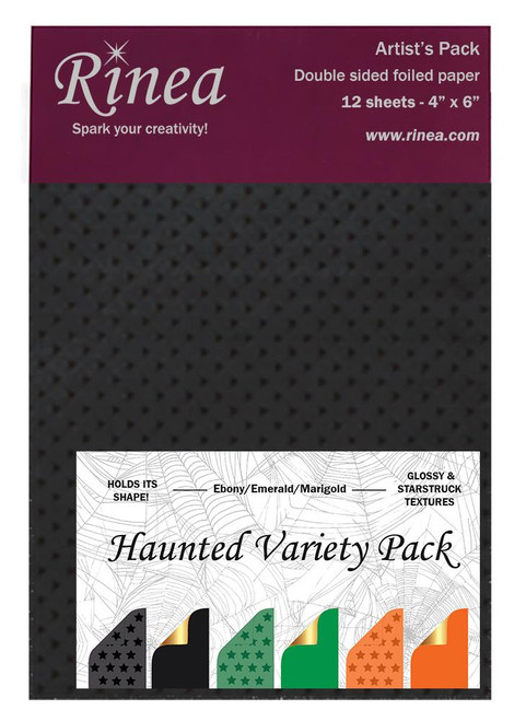 Haunted Foiled Paper Variety Pack - Artist's pack