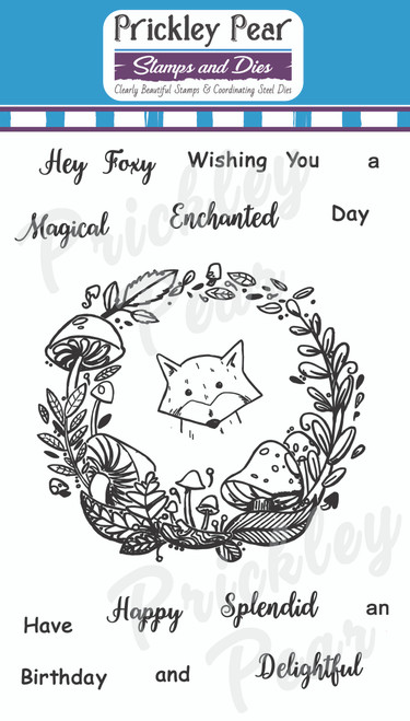 Magical Enchanted Day Clear Stamp Set CLR206