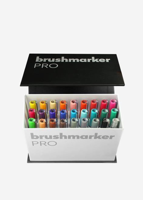 Karin Brushmarker Pro 26 Markers Mini Box Plus 1 Blender - 27C9