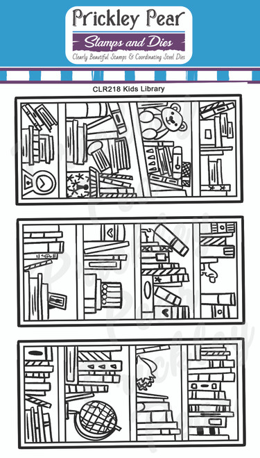 Kids Library Clear Stamp Set CLR218