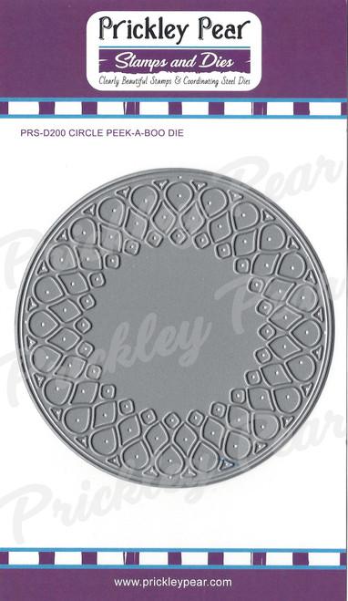 PPRS-D200 Circle Peek A Boo Die