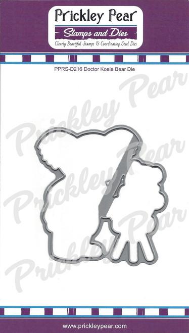 Doctor Koala Bear Steel Die PPRS-D216