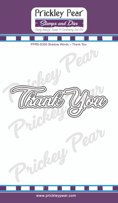 Shadow Word Die - Thank You - PPRS-D300