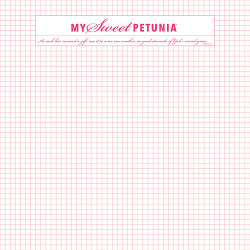 Misti Original Double Sided Grid Paper Pad 6.5 x 8.5 inches