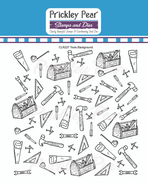 Tools Background Clear Stamp CLR237