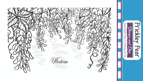Sketched Florals -  Wisteria - Clear Stamp Set CLR243