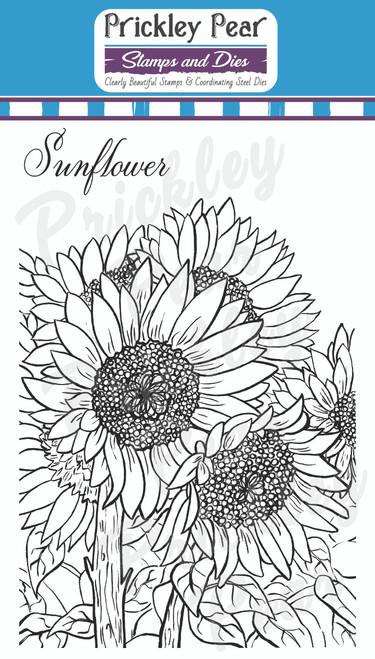 Sketched Florals - Sunflower - CLR248