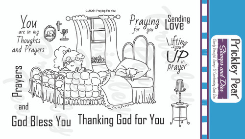 Praying For You Clear Stamp Set CLR251
