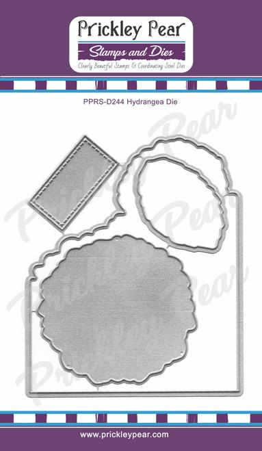 Hydrangea cutting die PPRS-D244