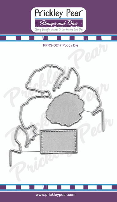 Poppy cutting die PPRS-D247