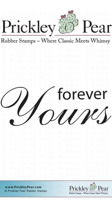 Forever Yours - Red Rubber Stamps