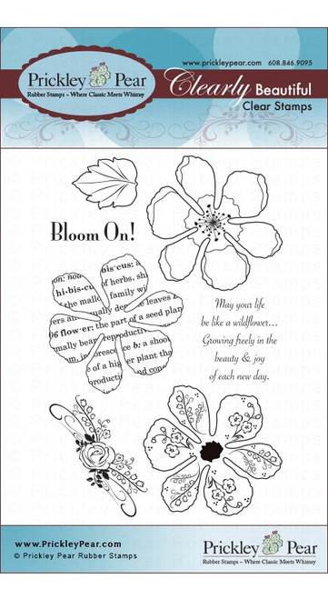 Hibiscus - Clear Stamp Set CLR002