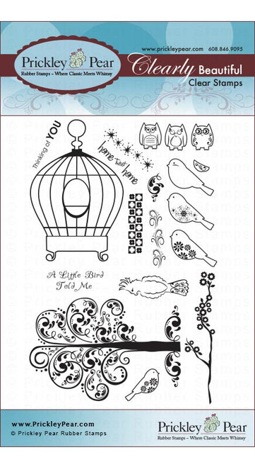 Birdcage - Clear Stamp Set CLR006