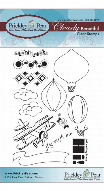 Hot Air Balloons - Clear Stamp Set
