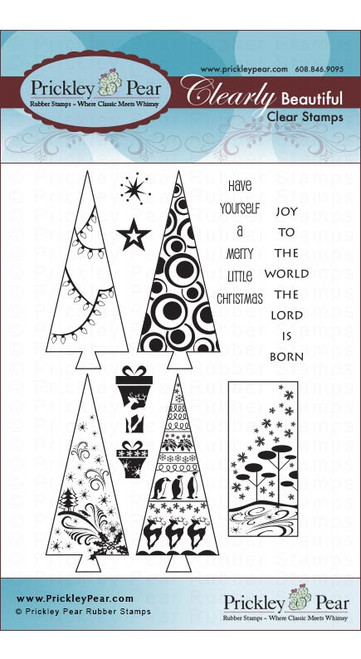 Christmas Trees - Clear Stamp Set
