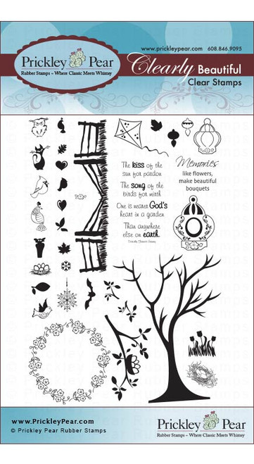 The Four Seasons - Clear Stamp Set CLR014