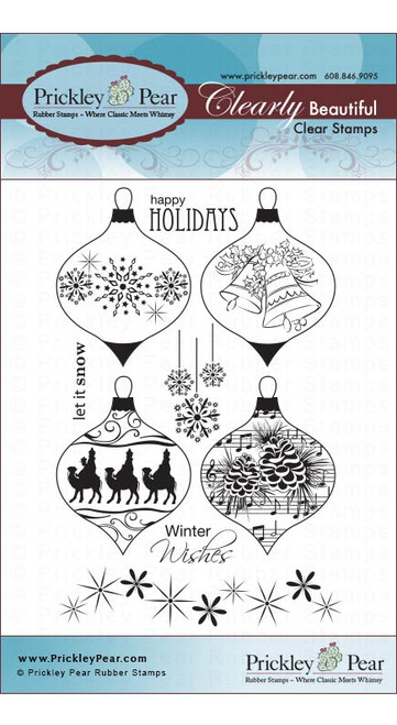 Ornaments Set 2 - Clear Stamp Set