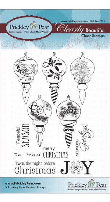 Victorian Ornaments - Clear Stamp Set CLR019