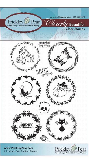 Circles Set - Fall - Clear Stamp Set