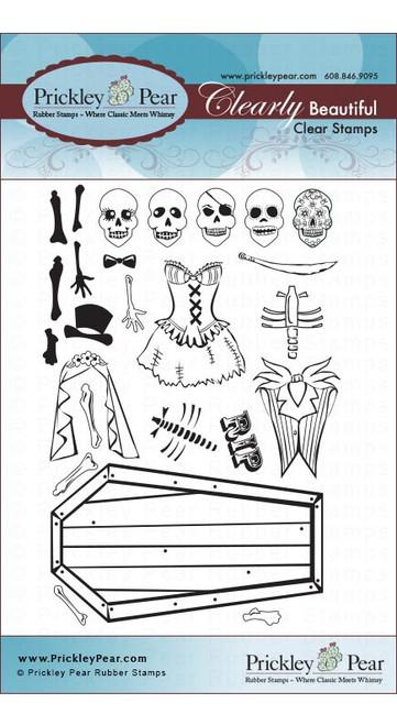 Dancing Skeleton - Clear Stamp Set