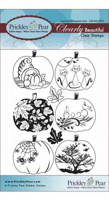 CLR008A Pumpkin 2 Stamp Set