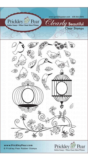 Mini Birds - Clear Stamp Set