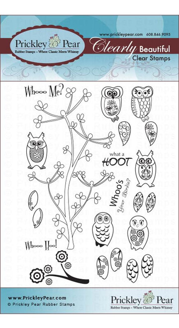 Mini Owls - Clear Stamp Set